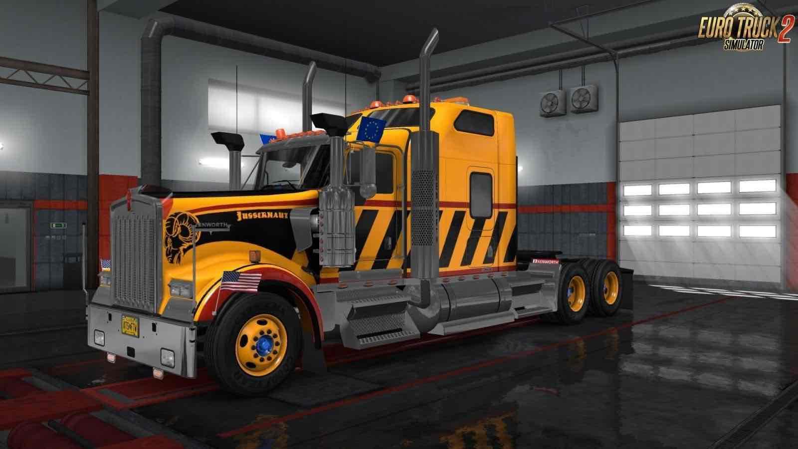 American truck simulator - steering creations pack download
