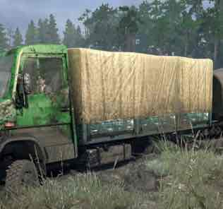 Mercedes-Benz B-818D v12.10.18 Mod for SpinTires MudRunner