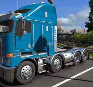 Kenworth K200 Custom V1.0 Mod for American Truck Simulator