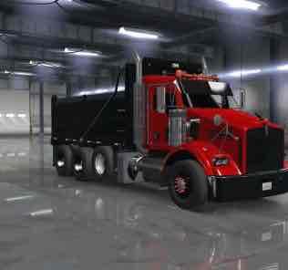 Kenworth T800 2016 1.33.X Mod for American Truck Simulator