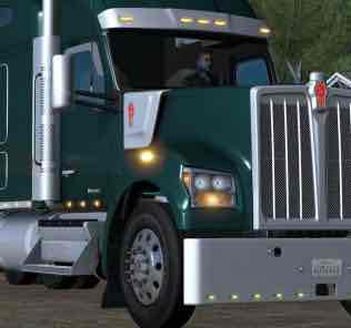 Kenworth W990 2019 1.34.X Mod Mod for American Truck Simulator