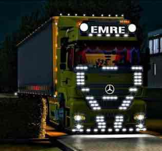 Mercedes Axor Emre Truck V1.0 Mod for Euro Truck Simulator 2