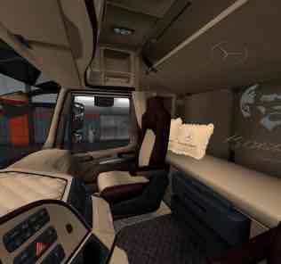 Mercedes Benz Actros Thermo Truck 1.33-1.34 Mod for Euro Truck Simulator 2