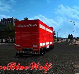 Scania 2016 Centipede By Indoorbluewolf Mod for Euro Truck Simulator 2
