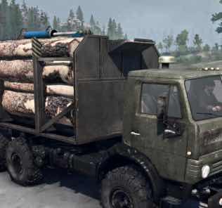 Kamaz-4310 Truck v03.06.18 Mod for SpinTires MudRunner