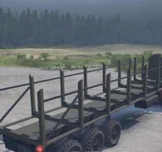 """KrAZ-260 """"Prapor"""" Truck v05/27/18 Mod for SpinTires MudRunner"""
