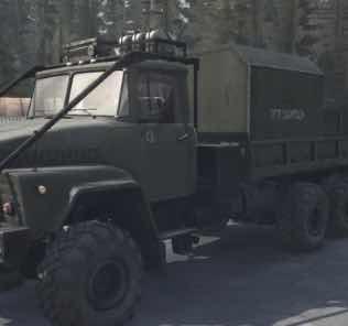 Kraz-260 / 260V Truck v08.07.18 Mod for SpinTires MudRunner
