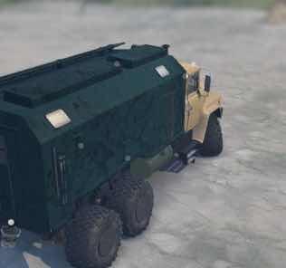 Kraz-260 Truck v29.08.18 Mod for SpinTires MudRunner