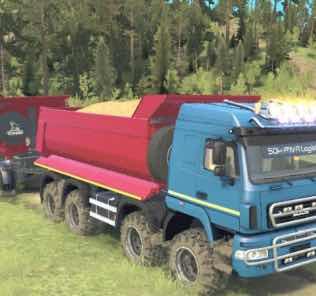 MAZ-6516B9 8×8 Truck v1.0 Mod for SpinTires MudRunner