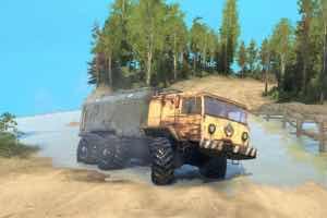 """Maz-535 6×6 """"Mazai"""" v1.0 Mod for SpinTires MudRunner"""