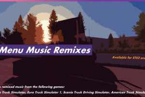 Menu Music Remixes 1.35.X Mod Mod for American Truck Simulator