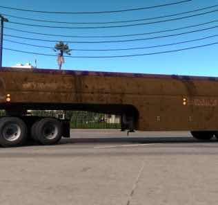 Ownable 50'S Fruehauf Tanker – Duel V1.1 Mod for American Truck Simulator