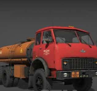 Series MAZ-500 Truck v05/28/18 Mod for SpinTires MudRunner