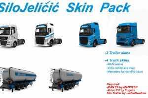 Silo Jelicic Skin Pack V1.0 Mod for Euro Truck Simulator 2