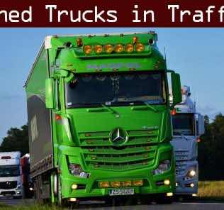 Tuned Truck Traffic Pack By Trafficmaniac V1.6 Mod for Euro Truck Simulator 2