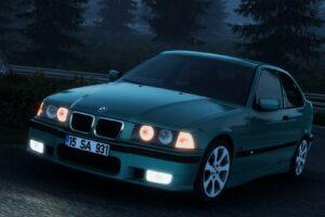 BMW E36 Compact V1R60 1.40 Mod for Euro Truck Simulator 2