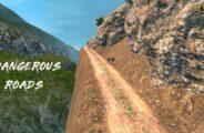 Dangerous Roads 1.36 – 1.40 Mod for Euro Truck Simulator 2