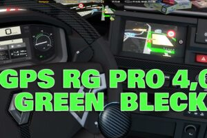 GPS RG PRO GREEN BLACK v4.0 Mod for Euro Truck Simulator 2