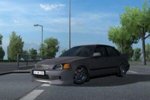 HONDA CIVIC IES V8.0 1.40 Mod for Euro Truck Simulator 2