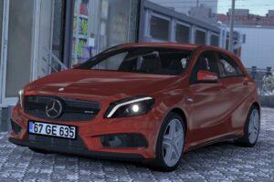 Mercedes-Benz A45 V1R51 1.39 Mod for Euro Truck Simulator 2