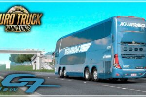 New G7 1800 DD Volvo 8×2 / 6×2 1.39 Mod for Euro Truck Simulator 2