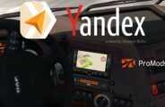 YANDEX NAVIGATOR FOR PROMODS V1.6 Mod for Euro Truck Simulator 2